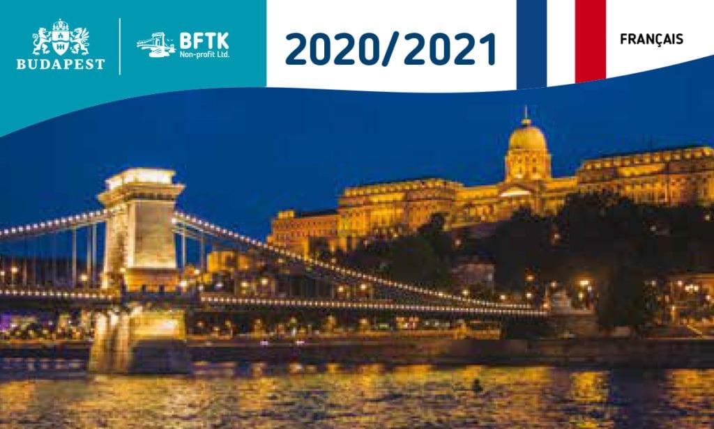 Guide officiel de Budapest 2020-2021