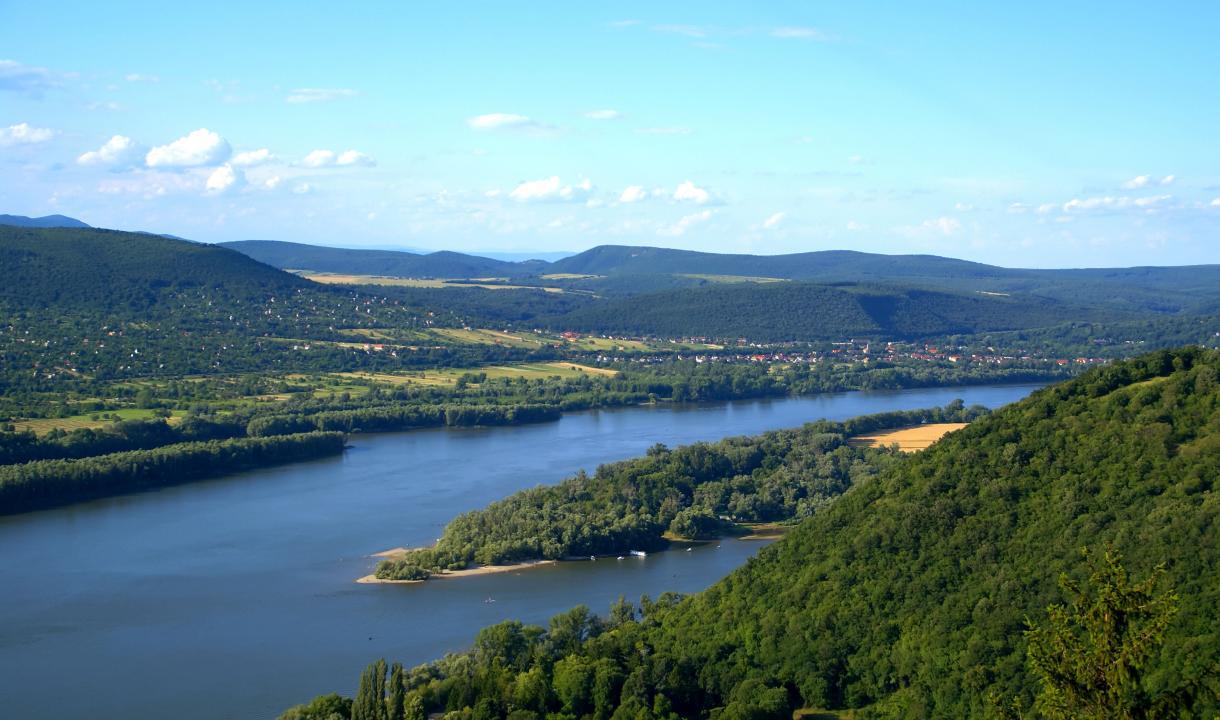 Le Danube près de Visegrád