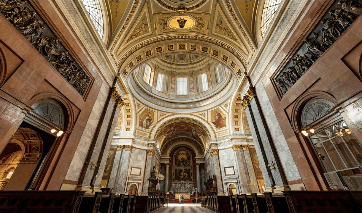 Intérieur de la basilique d'Esztergom