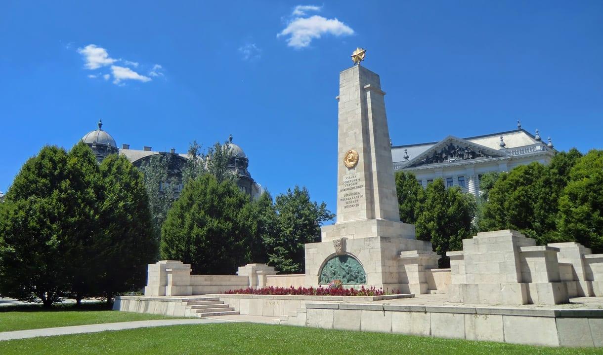 Monument commémoratif soviétique