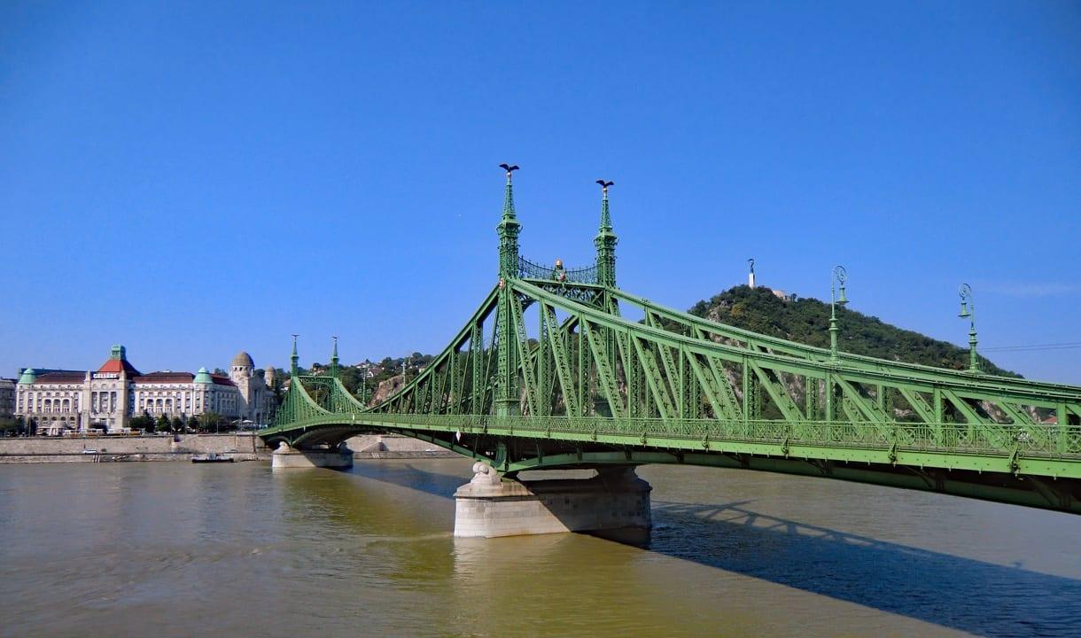 Pont de la Liberté et mont Gellért
