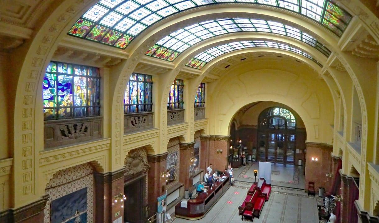 Hall des thermes Gellért