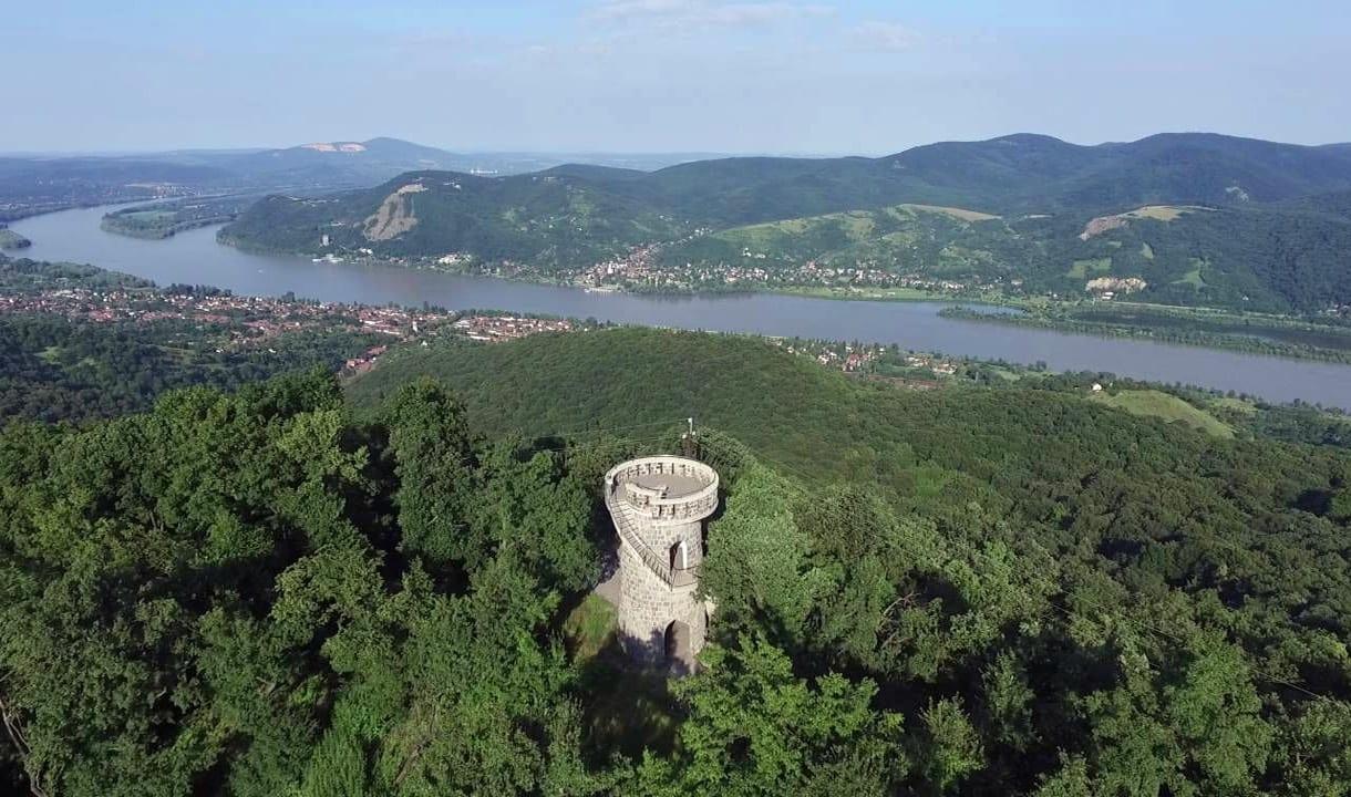 Début de la boucle du Danube