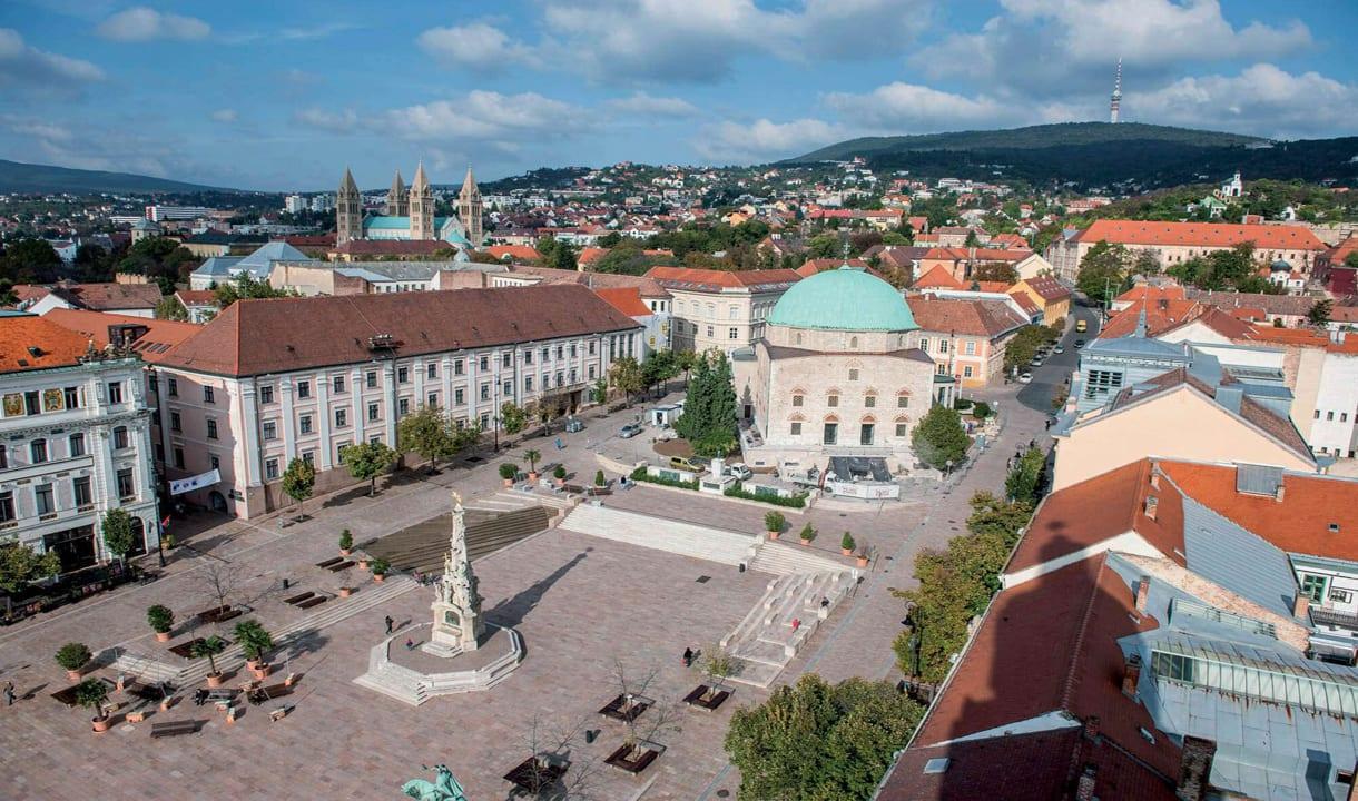 Centre-ville de Pécs