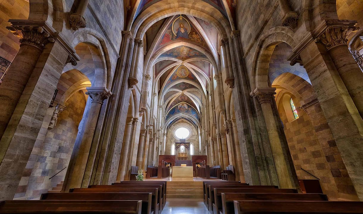 Église de l'abbaye de Pannonhalma