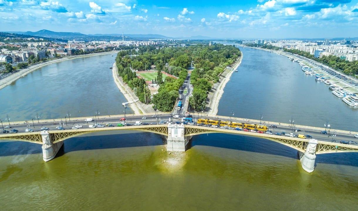 Pont et île Marguerite