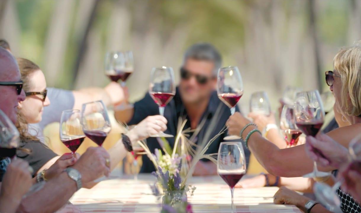 Dégustation de vins à Budapest