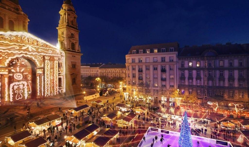 Marchés de Noël et de l'Avent de Budapest