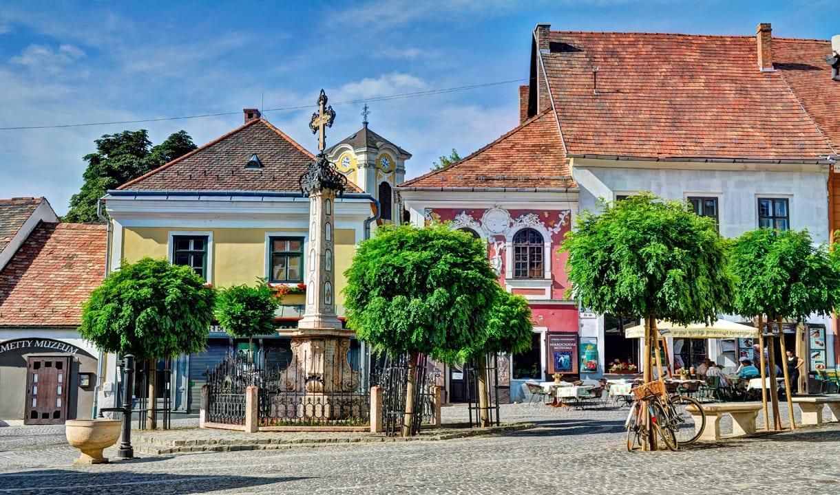 Place centrale de Szentendre