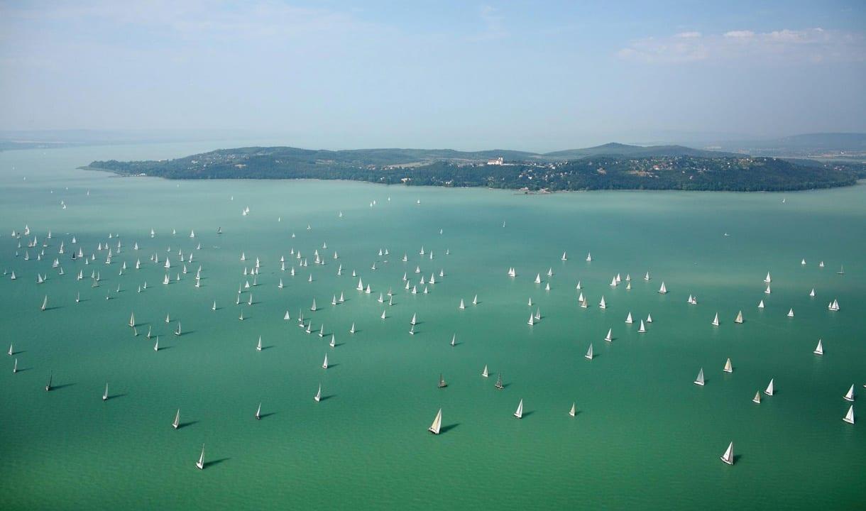 Régate sur le lac Balaton