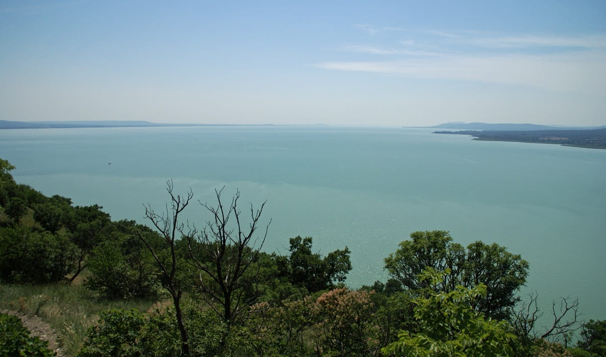 Paysage du lac Balaton