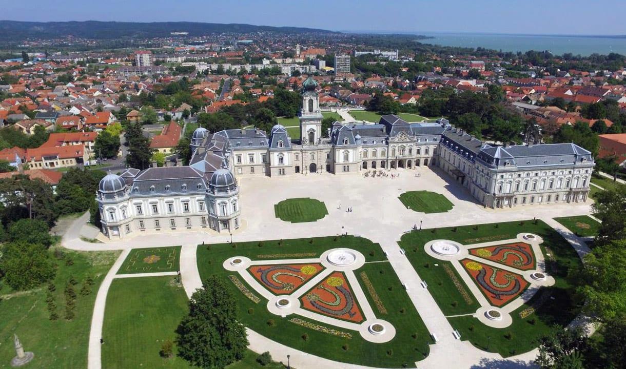 Château baroque de Keszthely