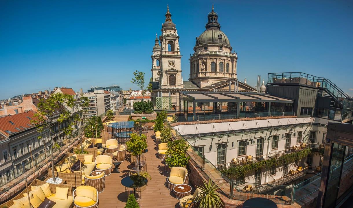Rooftop de l'hôtel Aria
