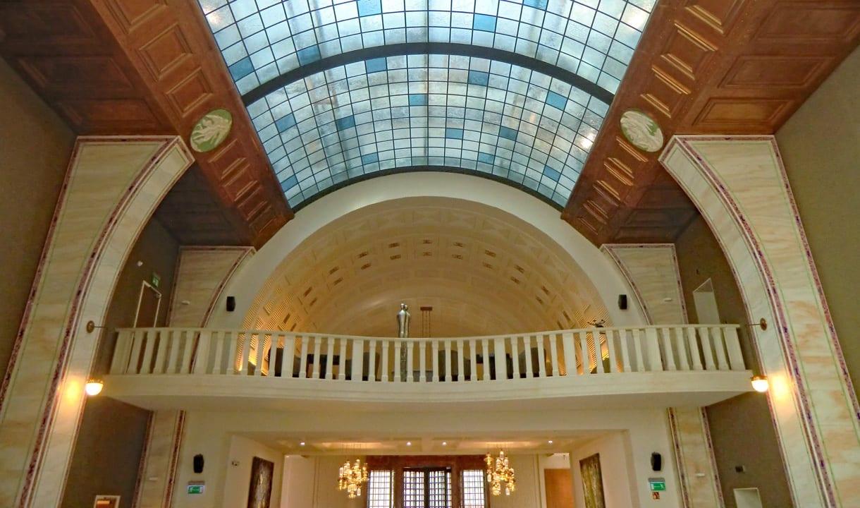 Lobby de l'hôtel Continental