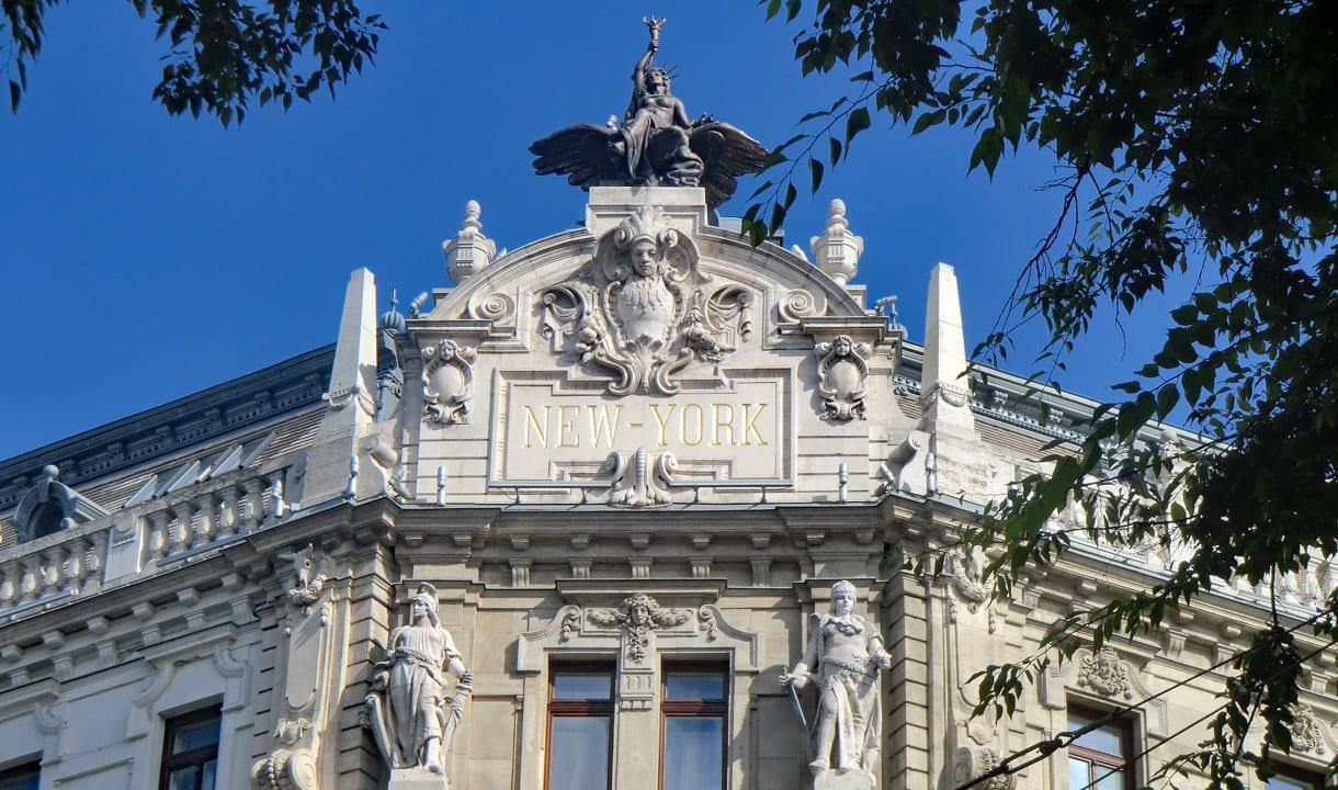 Fronton du New York Palace