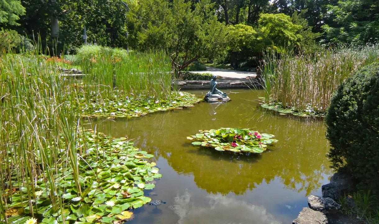 Jardin japonais de l'île Marguerite